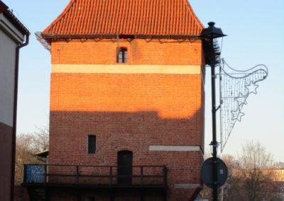 Baszta Gdańska - widok od strony południowej