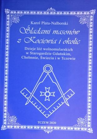 """Relacja z promocji książki pod tytułem """"Śladami Masonów z Kociewia i okolic"""", której autorem jest pan Karol Plata-Nalborski"""